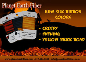 Planet Earth New Silk Ribbon