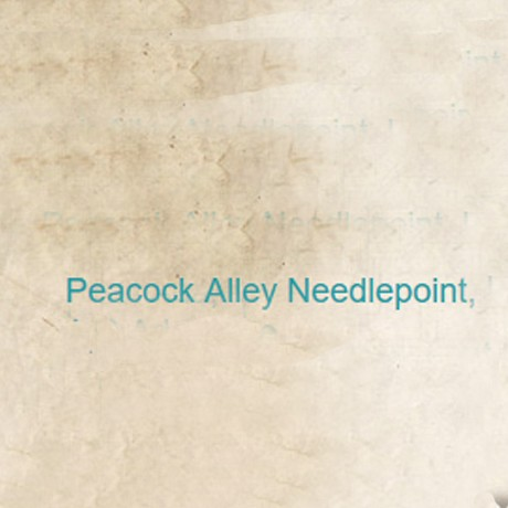 Peacock Alley Needlepoint