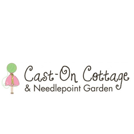 Cast-on Cottage and Needlepoint Garden
