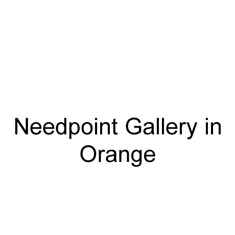 Needlepoint Gallery in Orange